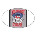 Rampart Crash Oval Sticker