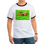 Nuzzling Cows Ringer T