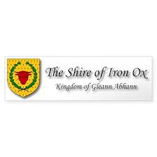 Iron Ox Sticker (Bumper)