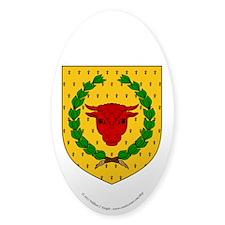 Iron Ox Sticker (Oval 50 pk)