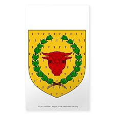 Iron Ox Sticker (Rectangle 50 pk)