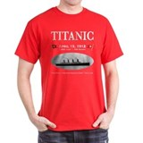 Titanic Ghost Ship (black) T-Shirt