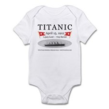 Titanic Ghost Ship (white) Infant Bodysuit