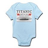 Titanic Ghost Ship (white) Onesie