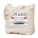 Titanic Ghost Ship (white) Tote Bag