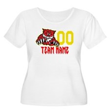 Wild Cat Team Logo T-Shirt