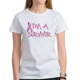 Funny Breast cancer pink ribbon Tee