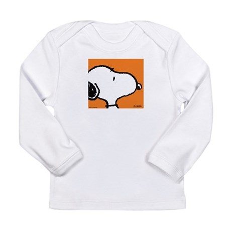 Fresh Orange Snoopy Long Sleeve Infant T-Shirt