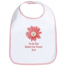 Best Mother's Day Present - P Bib