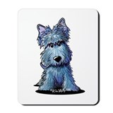 K9 Keanu Scottie Mousepad
