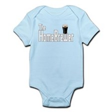 The HomeBrewer Stout Infant Bodysuit