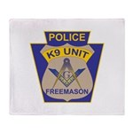 K9 Corps Masons Throw Blanket