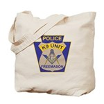 K9 Corps Masons Tote Bag