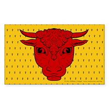 Populace Badge Sticker (Rectangle 50 pk)