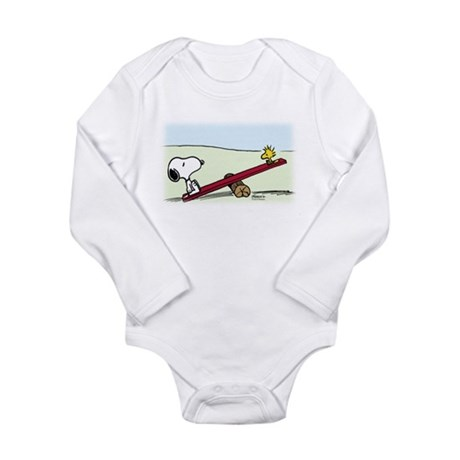 See-Saw Long Sleeve Infant Bodysuit