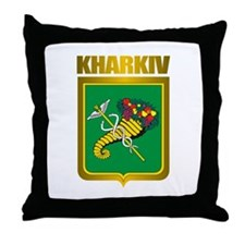 """Kharkiv"" Throw Pillow"