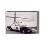San Francisco Police Car Rectangle Magnet (100 pac