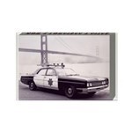 San Francisco Police Car Rectangle Magnet (10 pack