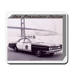 San Francisco Police Car Mousepad