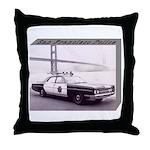 San Francisco Police Car Throw Pillow