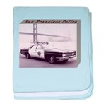 San Francisco Police Car baby blanket