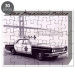 San Francisco Police Car Puzzle