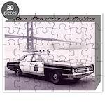 San Francisco Police Car Puzzle