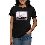 San Francisco Police Car Women's Dark T-Shirt
