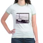 San Francisco Police Car Jr. Ringer T-Shirt