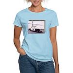 San Francisco Police Car Women's Light T-Shirt