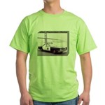 San Francisco Police Car Green T-Shirt