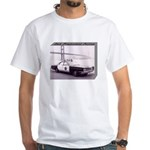 San Francisco Police Car White T-Shirt