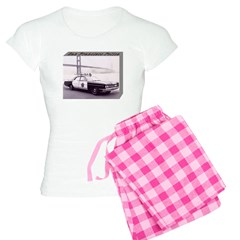 San Francisco Police Car Women's Light Pajamas
