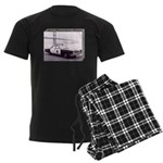 San Francisco Police Car Men's Dark Pajamas