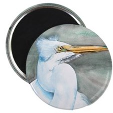 Great White Egret Magnet