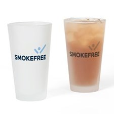 Smoke Free Drinking Glass