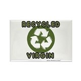 Recycled Virgin (Guys') Rectangle Magnet (100 pack
