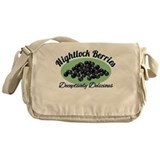 Nightlock Berries Messenger Bag