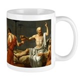 The Death Of Socrates Small Mug