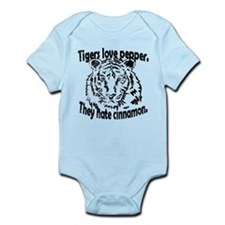 Unique Tigers love pepper Infant Bodysuit