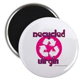 "Recycled Virgin (Girls') 2.25"" Magnet (10 pack)"