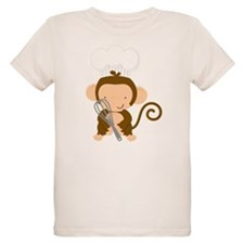 Baby Chef Monkey T-Shirt