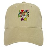 I Love My Autistic Brother Baseball Cap