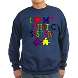 I Love My Autistic Sister Jumper Sweater