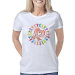I Love My Autistic Cousin Organic Kids T-Shirt (da