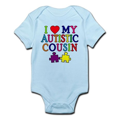 I Love My Autistic Cousin Infant Bodysuit