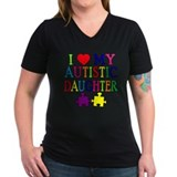 I Love My Autistic Daughter Tshirts  Shirt