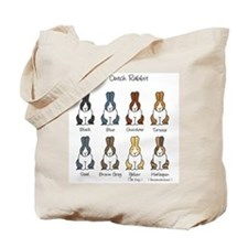 Dutch Rabbit Colors Tote Bag