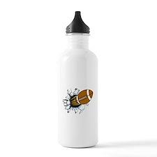 American Football Water Bottle