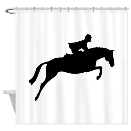 h/j horse &amp;amp; rider Shower Curtain